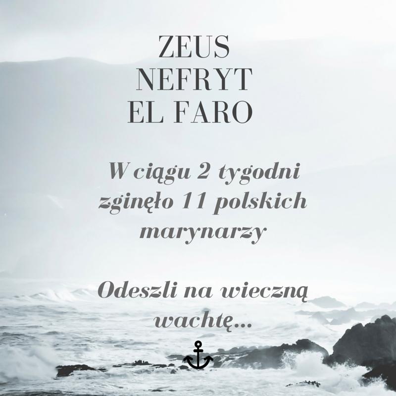 W ciągu 2 tygodniu zginęło 11 polskich marynarzyOdeszli na wieczną wachtę...
