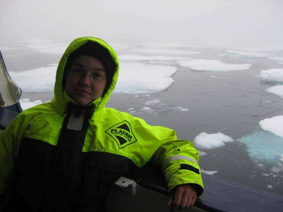 Basia Górska  Bo Żona Marynarza też czasami pracuje na morzu