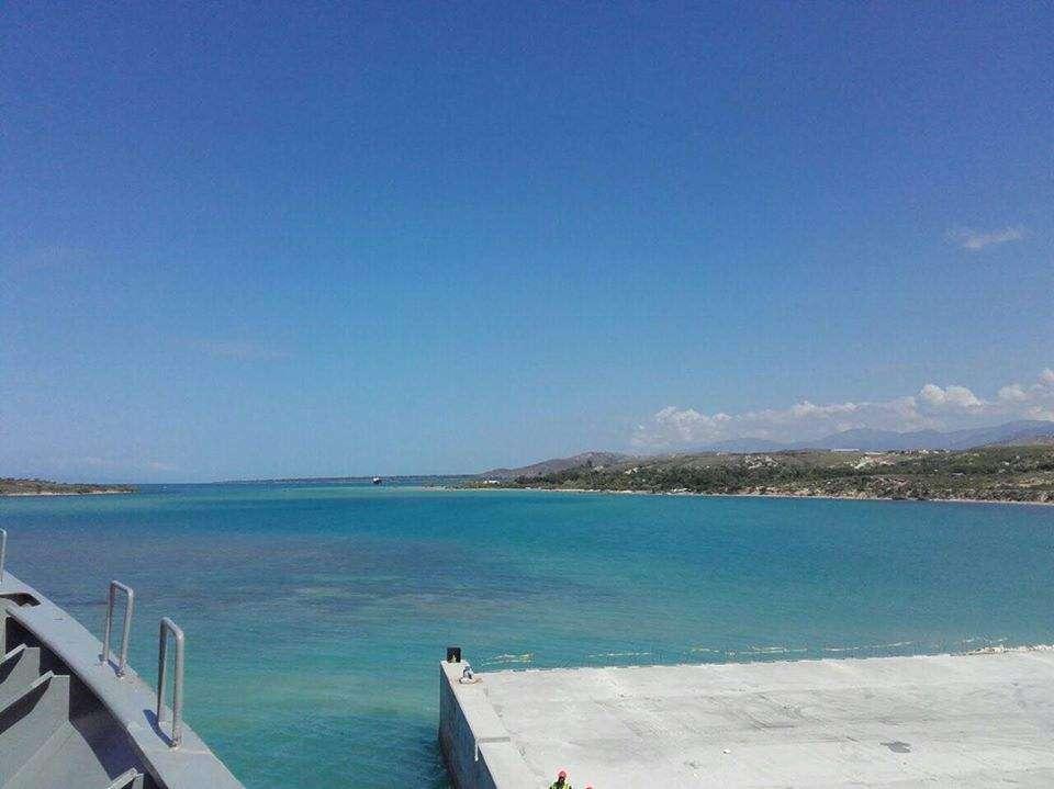 Bodajże moj przyszły maz z haiti wychodził z portu Martyna Horzelska