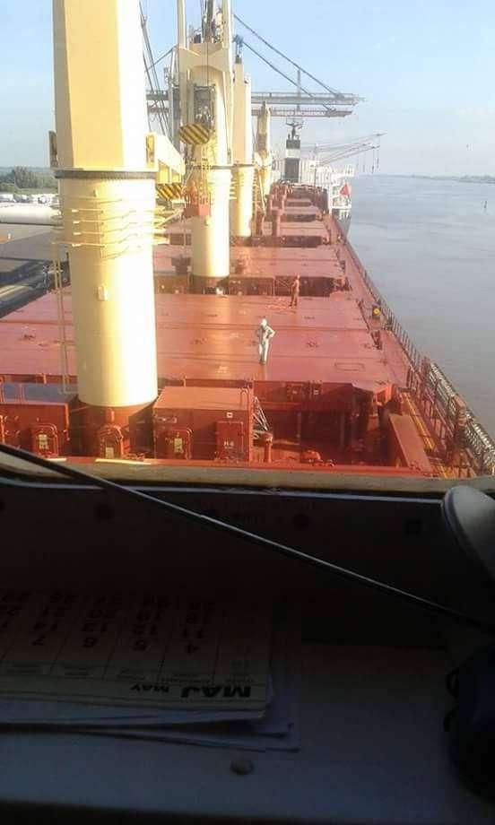 Emilia Bartnik M na wachcie port w Brake