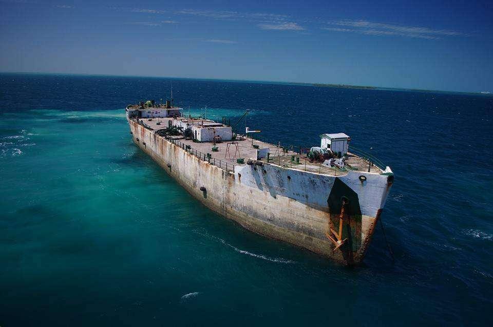 Joanna Piotrowska jest to statek zrobiony z betonu przed II wojną światową , stoi w Belize jako storage barge obecnie , jeden z ostatnich które plywaj