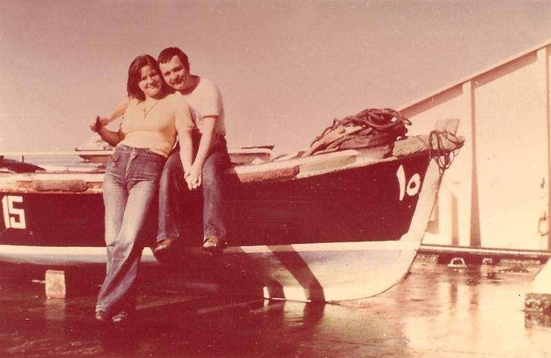 Poznalismy sie z mezem na statku,79r ... och Anita Idzikowska