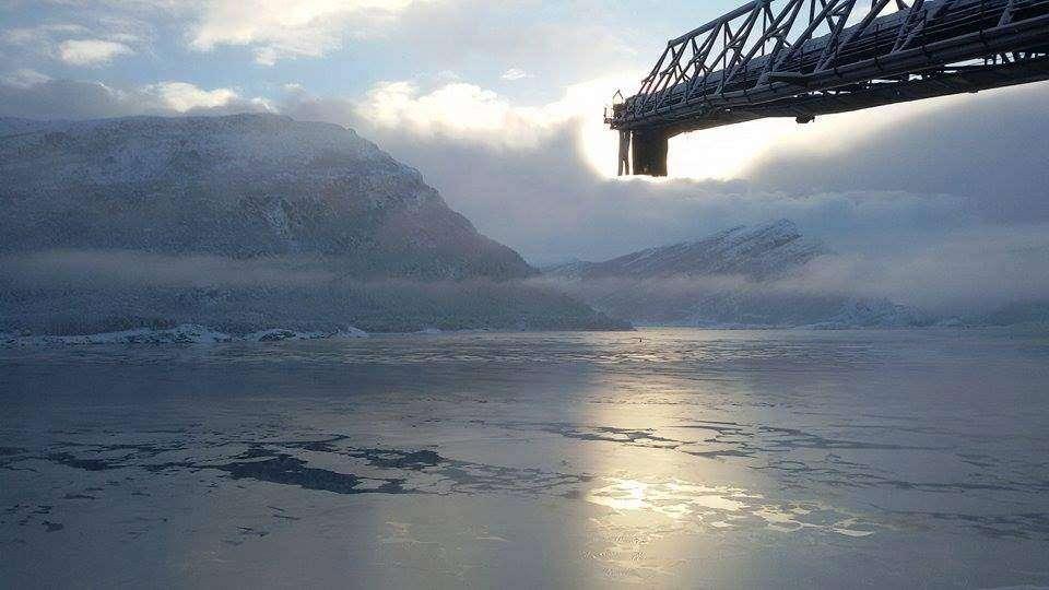 Przesyłam zdjęcie prosto z Norwegii autorstwa mojego kochanego marynarza Macieja Dominika Wołejko