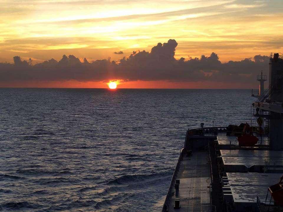 Sam początek bahamas podczas przelotu do Houston Maciej Łaziak