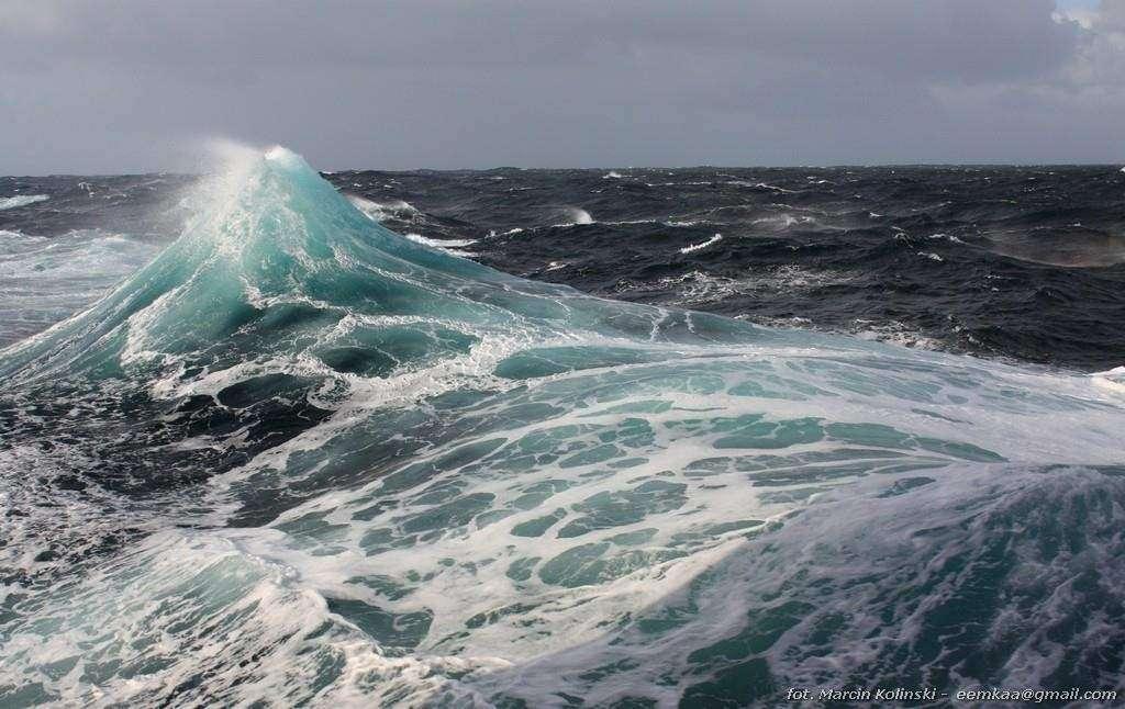 To zdjecie zrobił Moj M na Zatoce Biskajskiej podczas sztormu Katarzyna Kowalewska