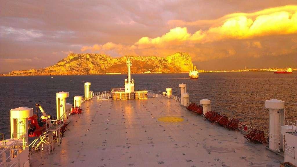 Zdjęcie  z Gibraltaru Artur Lech