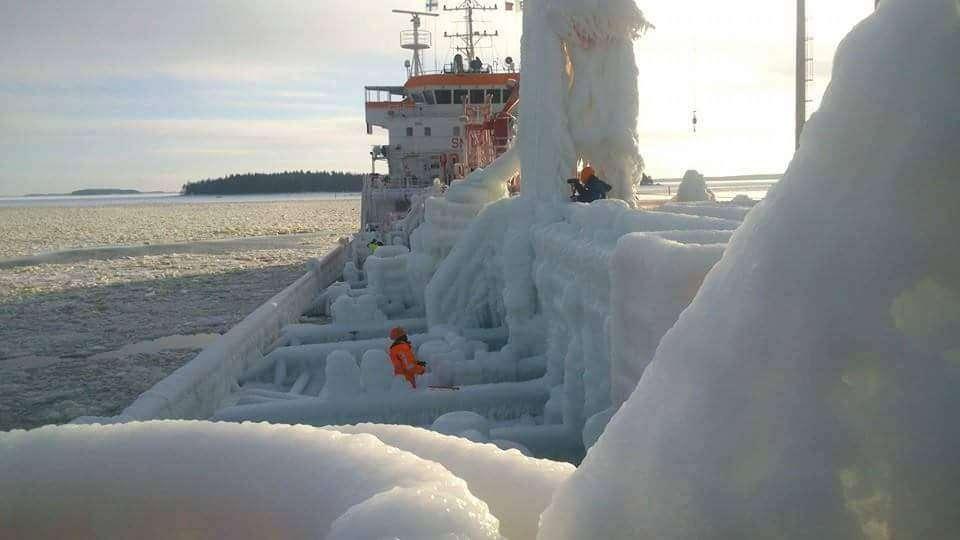 Zima w Zatoce Fińskie Aleksandra Sierońska