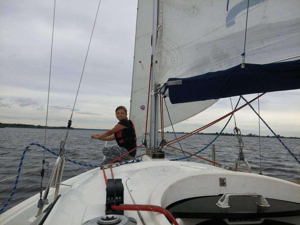 Izabela Pilarczyk młoda żeglarka