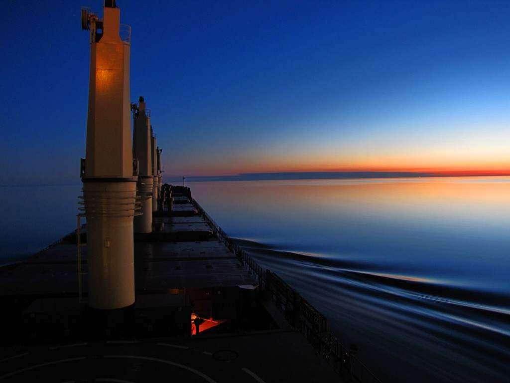 Jezioro Superior USAKANADA  Zachód słońca Agnieszka Kawałek