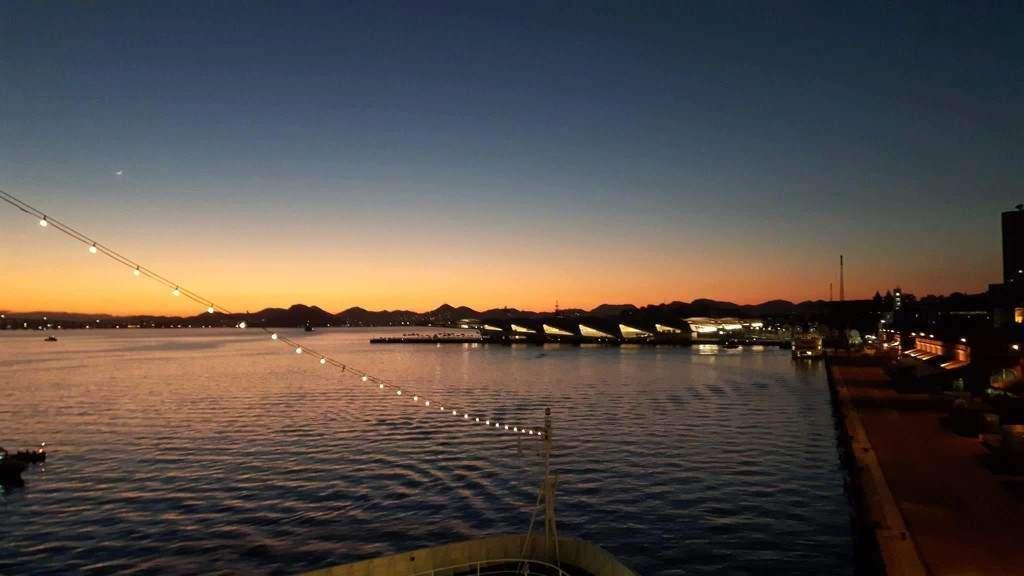 Silver Cloud, wschód słońca przed Igrzyskami Olimpijskimi w Rio Marta Szulińska