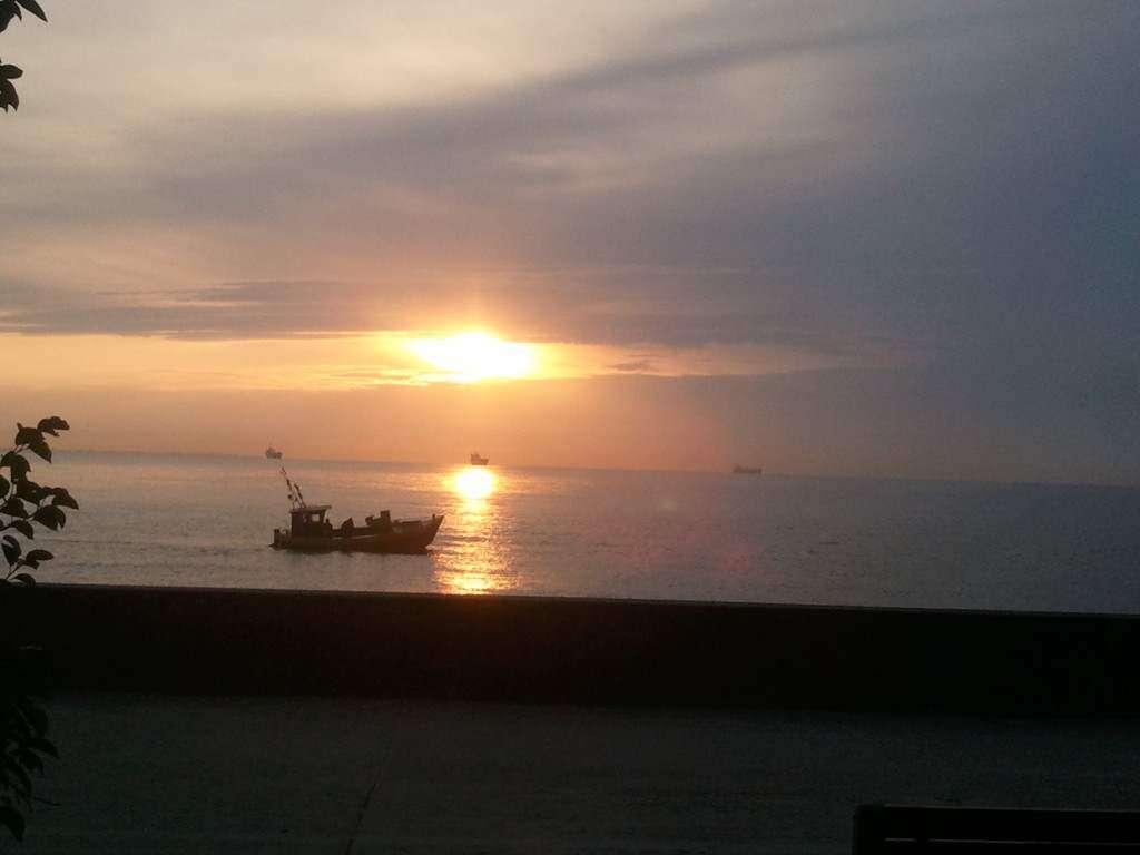Wschód słońca Gdynia Karolina Plata