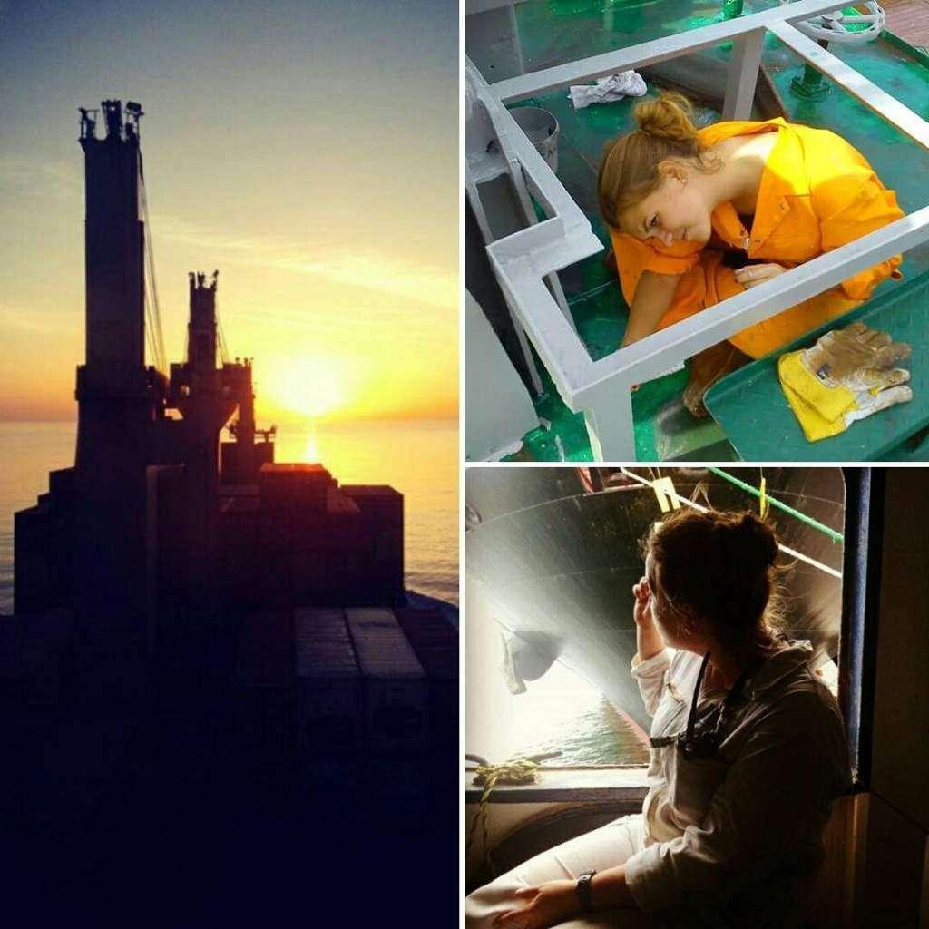 o co sklada sie na życie na morzu-praca I niezapomniane podróże oraz zachody słońca Ewelina Nowotka