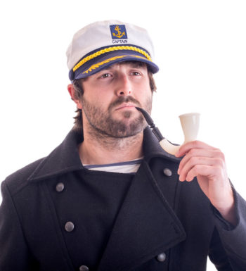 Captain with pipe