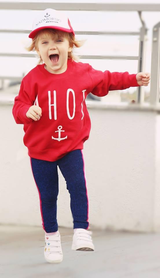 Bluza Ahoj dla dzieci